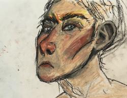 Glaring Woman