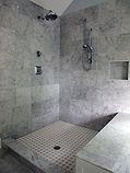 Winston Salem Tile Install - Marble