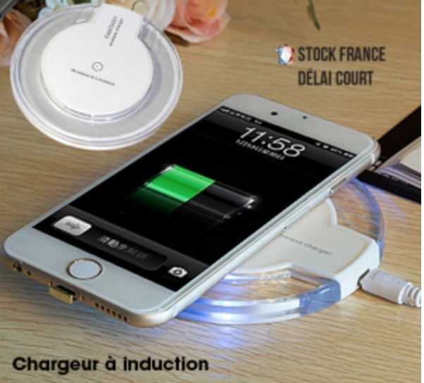 Power bank induction