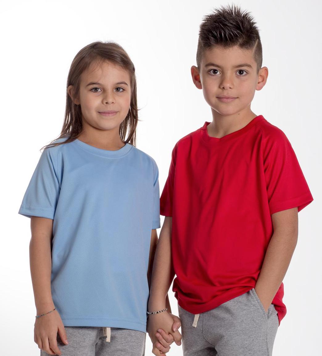 Tshirt enfant 100% polyester