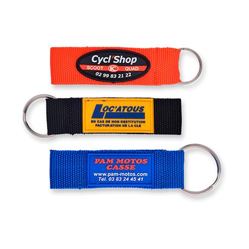 Porte-clés en tissu