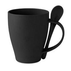 Mug avec cuillère - Dual fibre