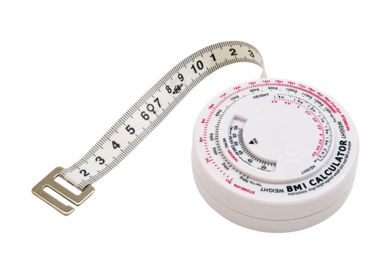 Mètre-ruban poids