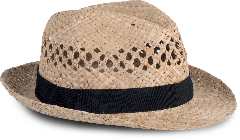 Chapeau style panama tressé