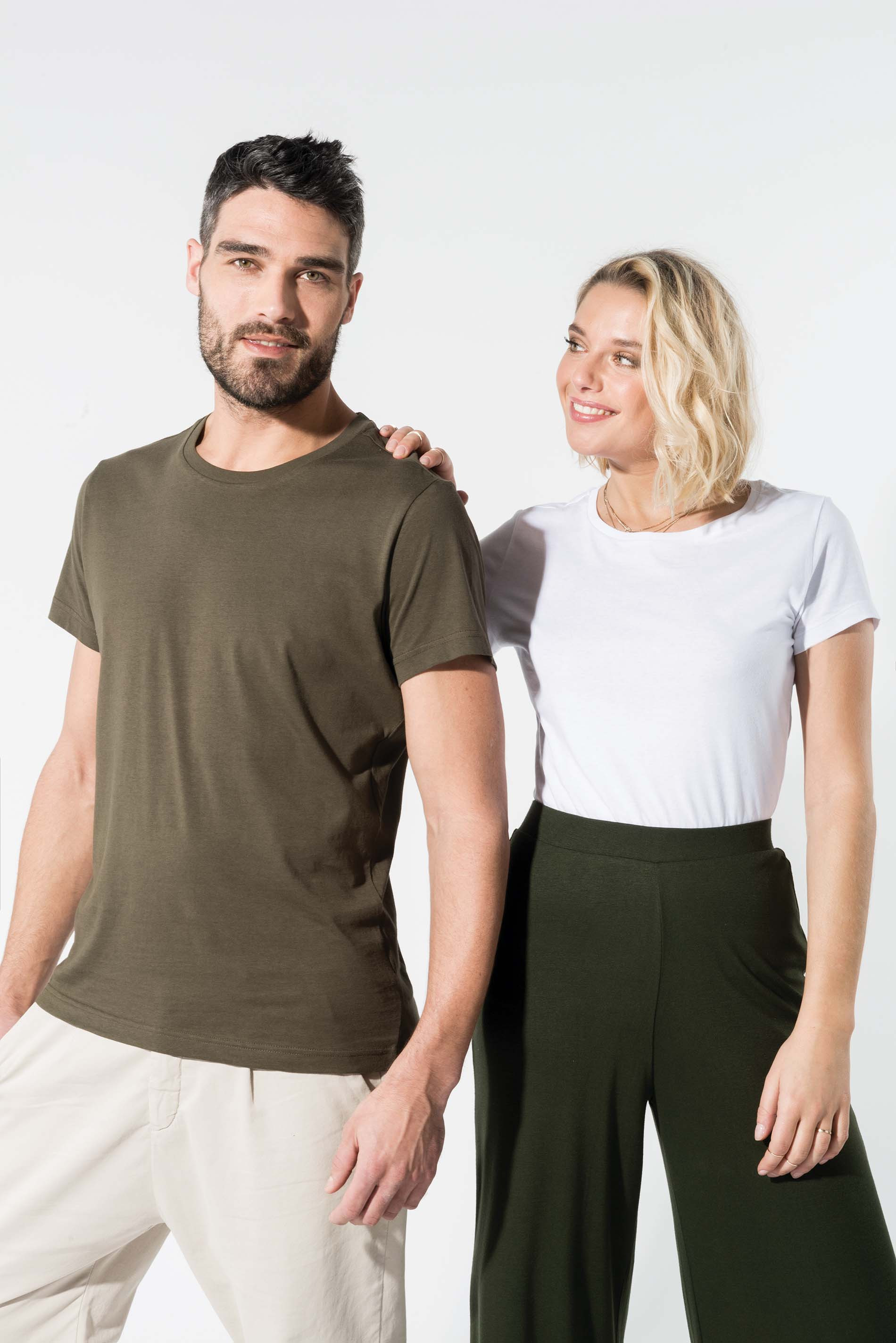 T-shirt coton BIO - marque KARIBAN
