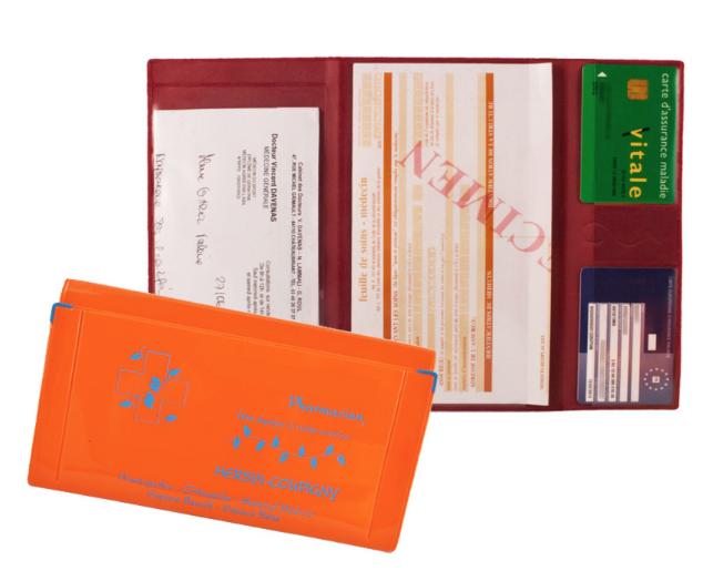Porte-cartes santé/banque