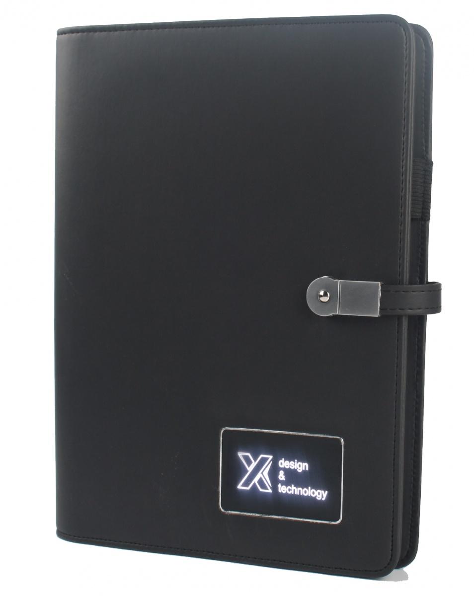 Carnet A5 avec batterie intégrée