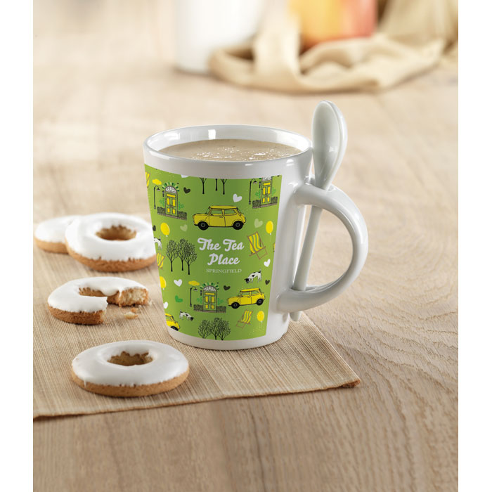 Mug avec cuillère - Sublimkonik