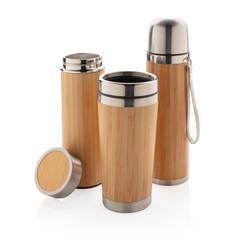 Mug - Thermos - Bouteille en bambou