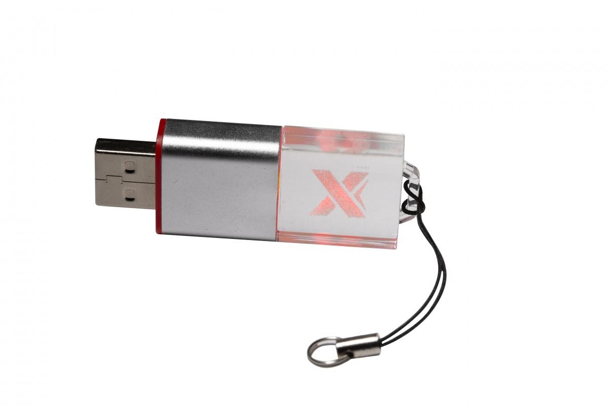 Clés USB logo lumineux