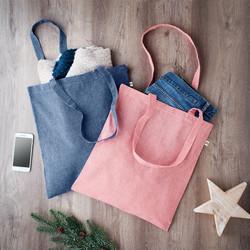 Sac shopping coton et polyester recyclé