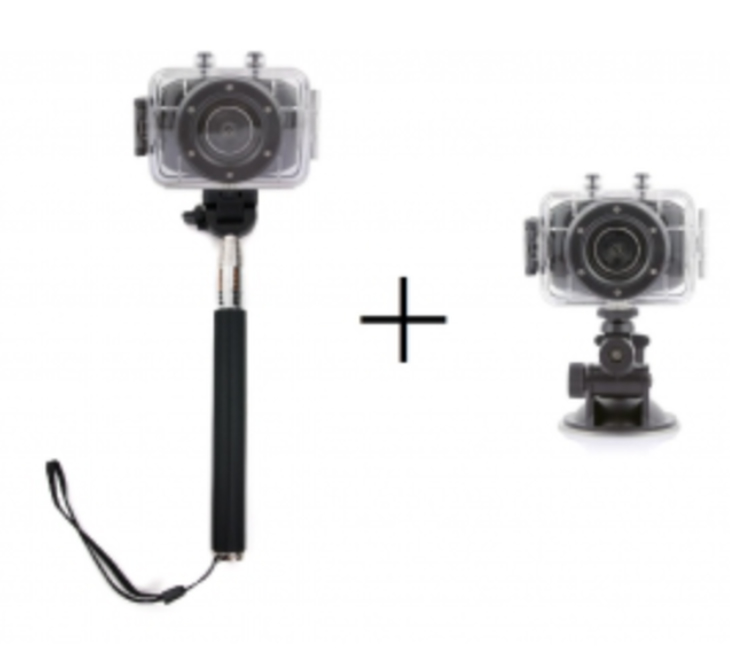 Caméra Hyundai, avec perche selfie