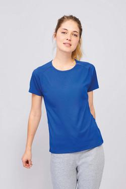T-shirt sport 100% polyester