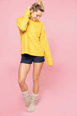 Sweat-shirt BIO oversize - KARIBAN