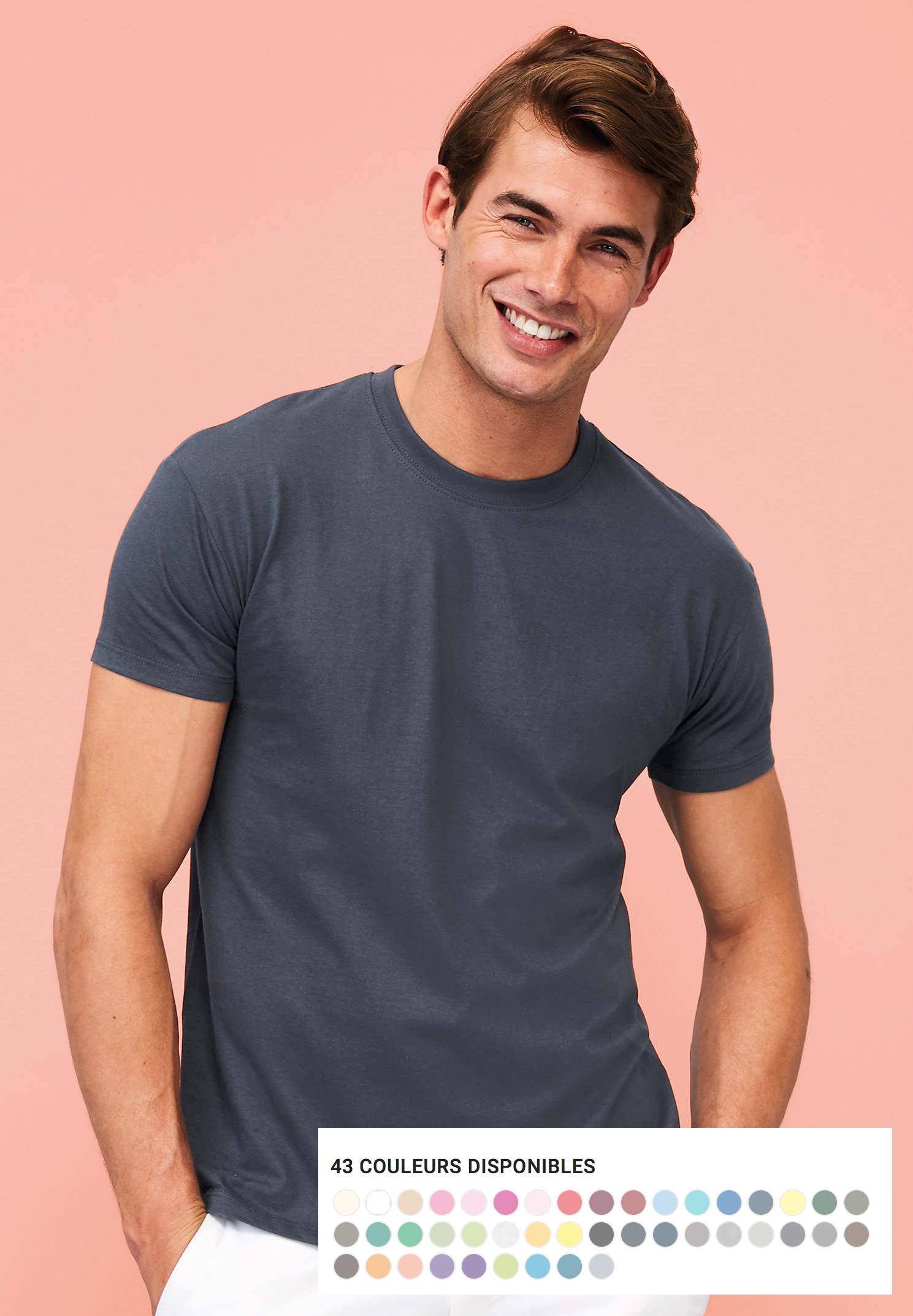 T-shirt REGENT 100% coton