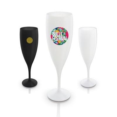 Flûte à champagne en plastique réutilisale