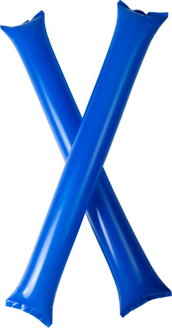 2 bâtons gonflables pour supporter