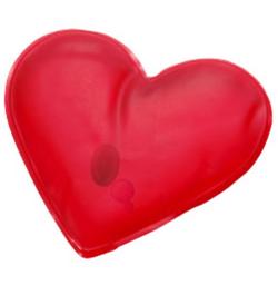 Chaufferette forme coeur