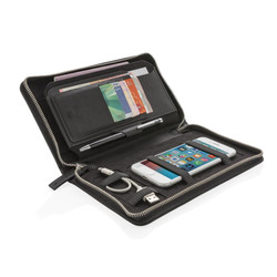 Portefeuille de voyage de luxe avec protection anti RFID