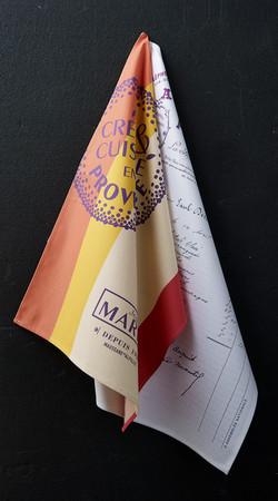 Torchon personnalisable - fabrication française