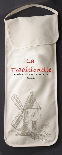 Sac à pain - fabrication française