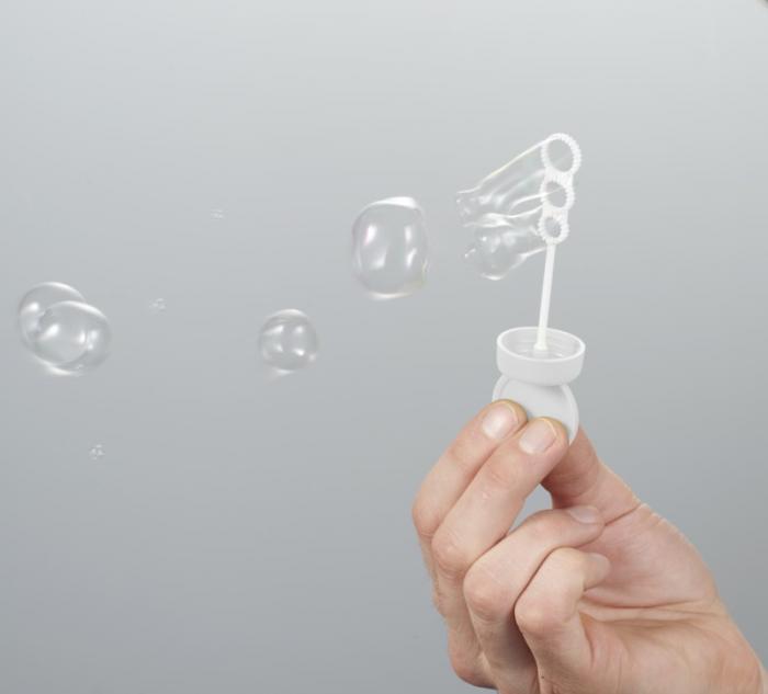 Tube à bulles
