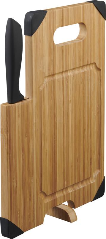 Planche à découper en bambou avec couteau Avery