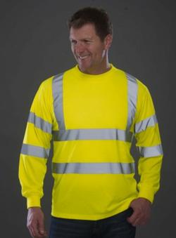 T-shirt manches longues sécurité