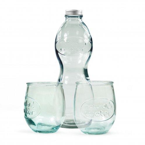 Coffret bouteille + 2 verres