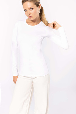T-shirt coton élasthane