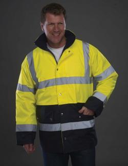 Veste de sécurité bicolore