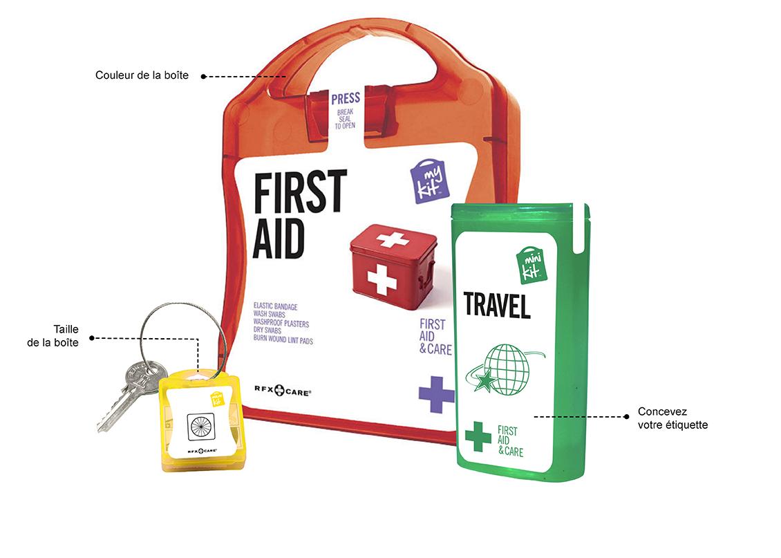 MyKit™ est une gamme de kits de soins pratiques