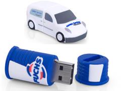 Clé USB silicone 2D ou 3D
