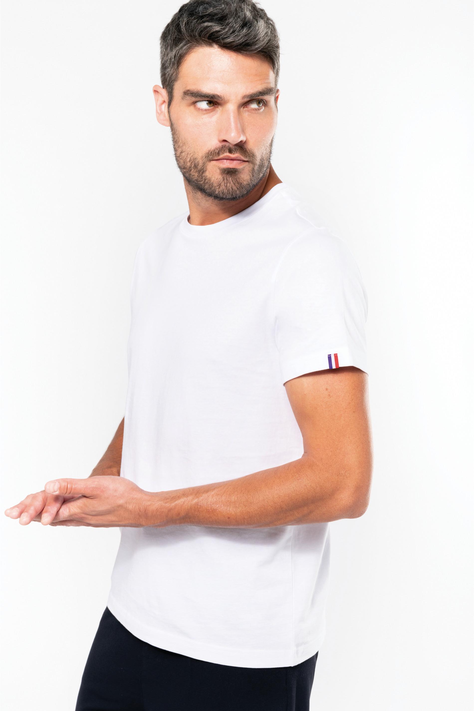 T-shirt fabrication française