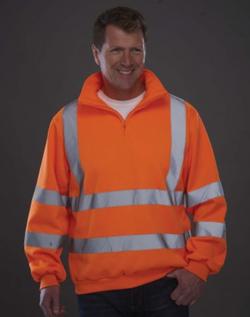 Sweat-shirt col camionneur