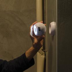 Lampe en ABS à LED COB puissante avec base magnétique