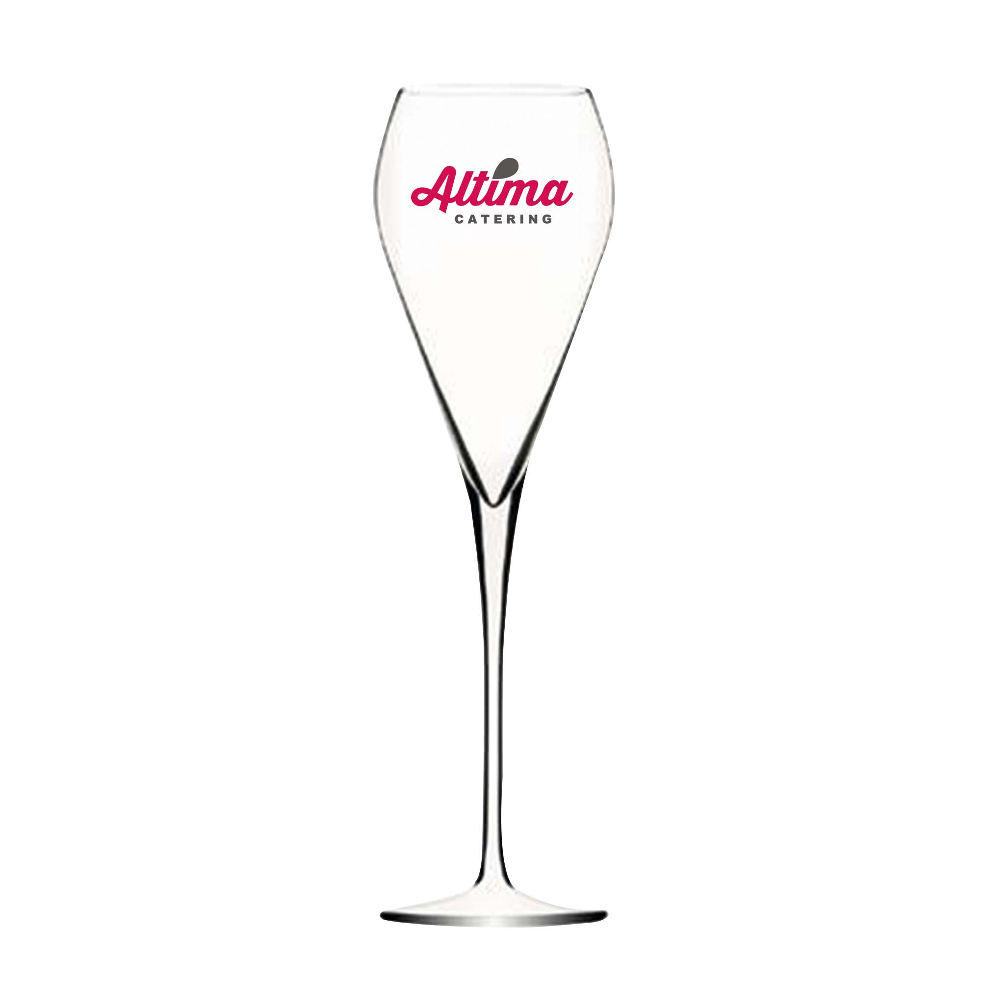 Flûte à champagne tulipe