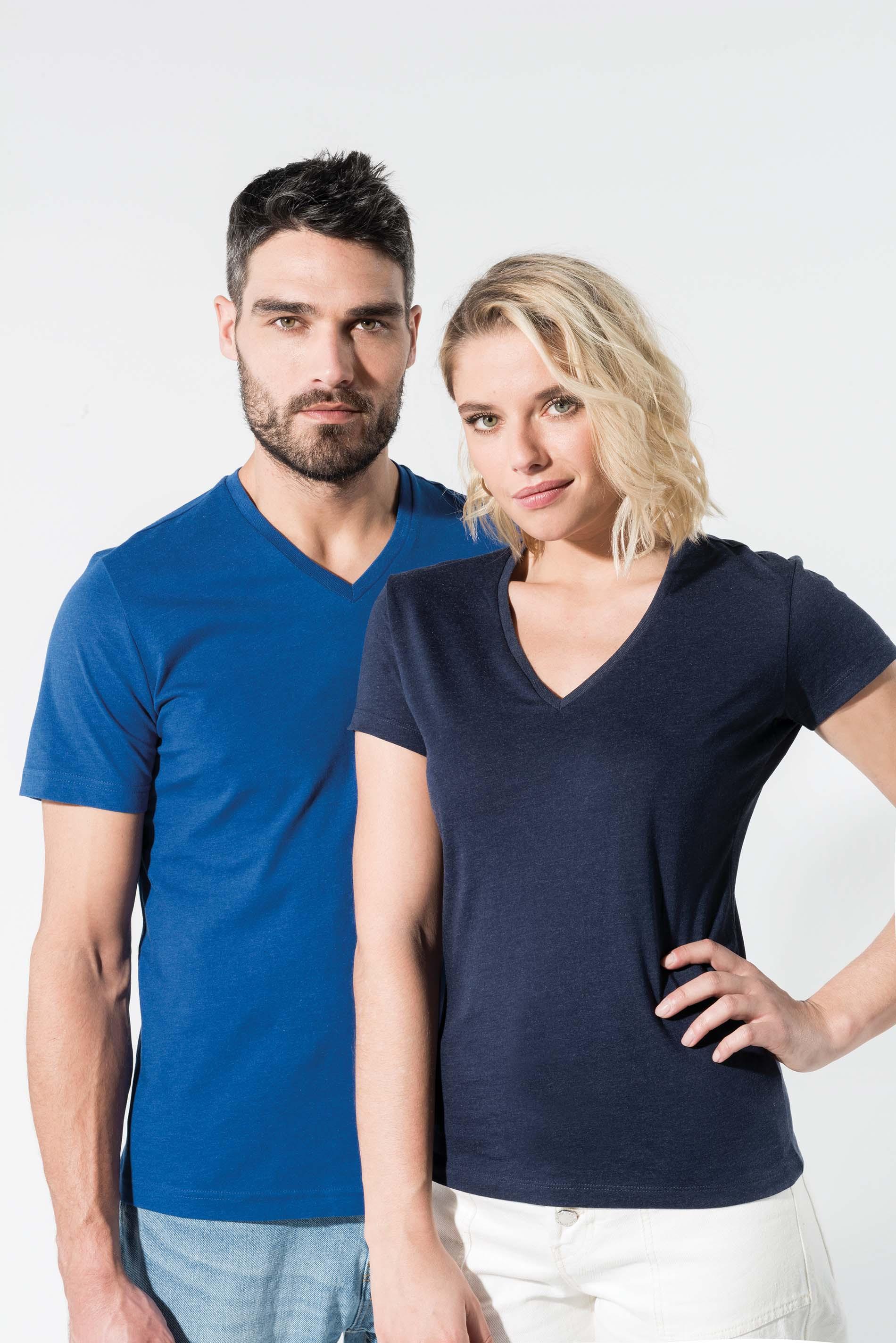 T-shirt col V BIO - KARIBAN