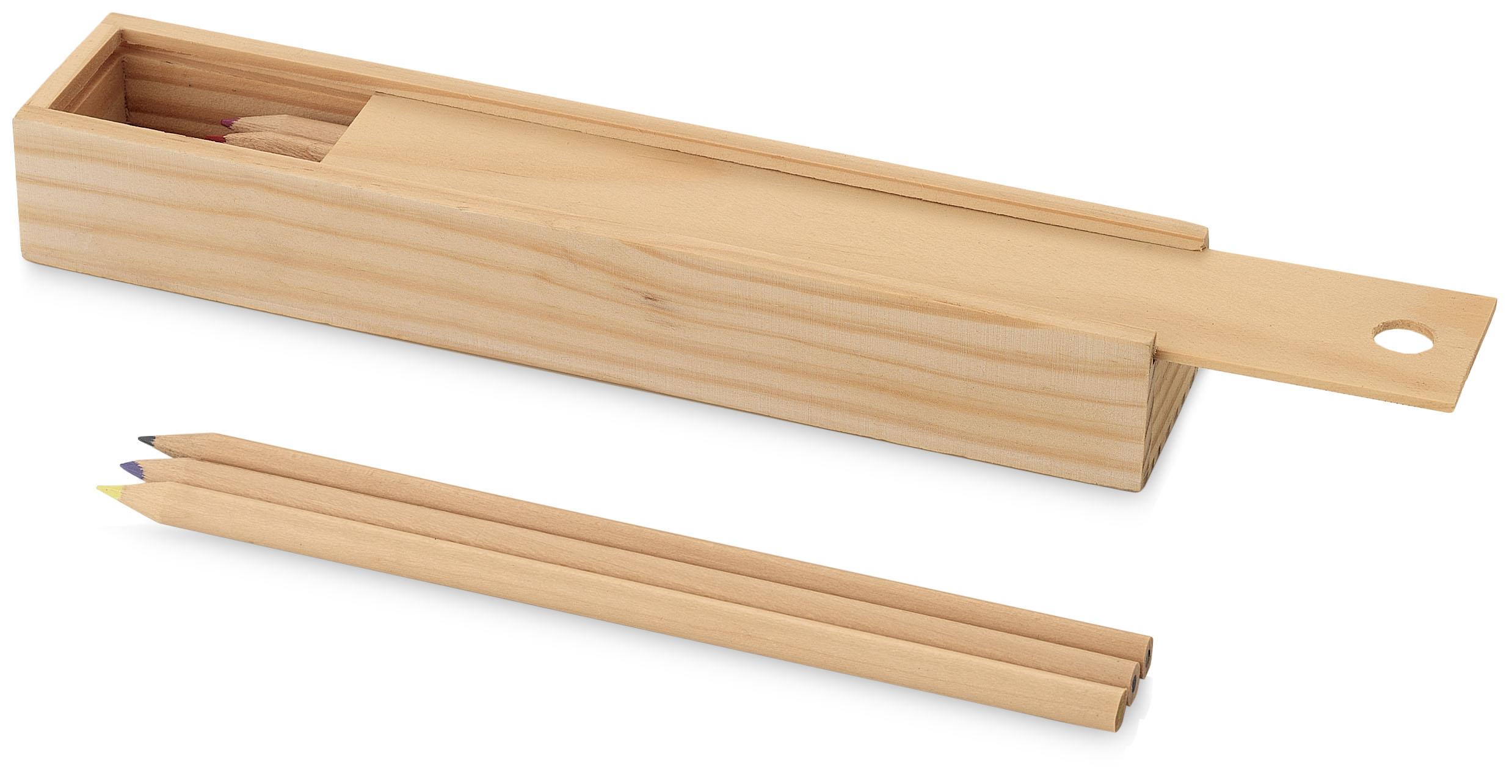 Plumier en bois
