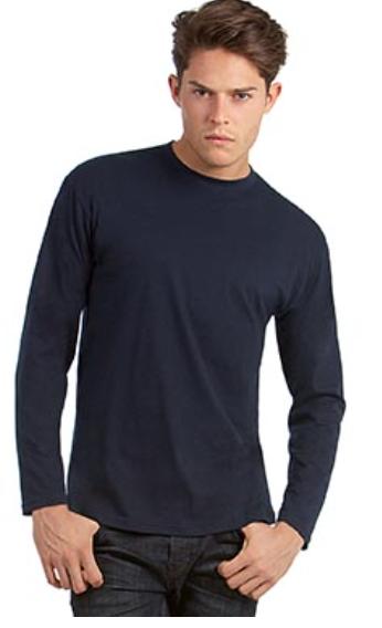 T-shirt #E190 ou #E150 manches longues- B&C