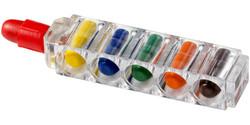 6 Crayons de cire