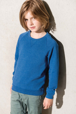 Sweat col rond BIO enfant - KARIBAN