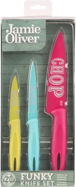 Ensemble de couteaux 3 pièces Funky