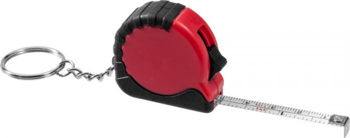 Porte-clés avec mètre-ruban rétractable