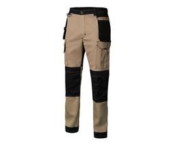 Pantalon bicolore canvas strech -  Vellila