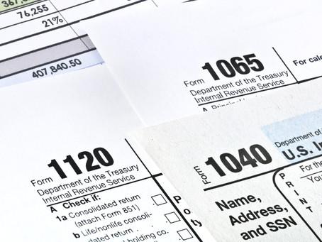 Welcome to Tax Season!