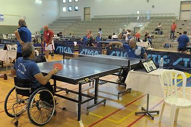 טניס שולחן נכים מרכז הספורט לנכים ראשון לציון
