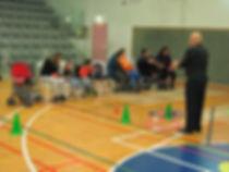 בוצ'יה מרכז הספורט לנכים ראשון