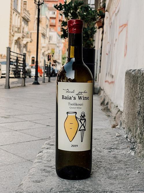 Цоликаури Baia's Wine