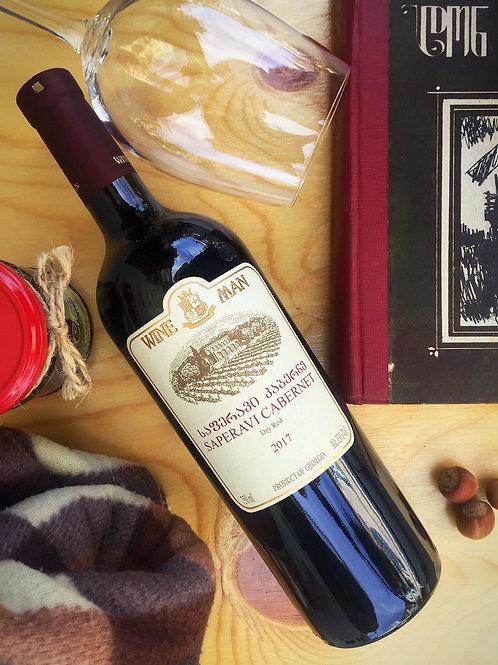 Каберне-Саперави Wine Man